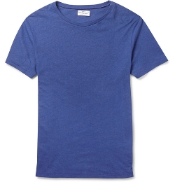 Gant Rugger - Slubbed Cotton and Linen-Blend Jersey T-Shirt