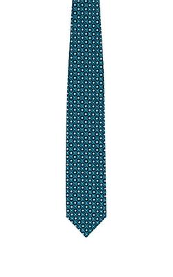 Brioni - Geometric-Medallion-Pattern Jacquard Necktie