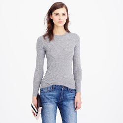 J.Crew - Cashmere Ribbed Sweater