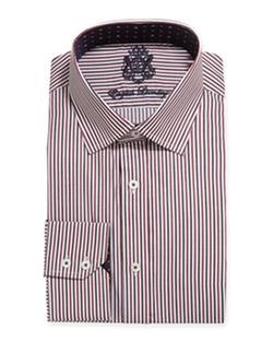 English Laundry - Multi Stripe Woven Dress Shirt