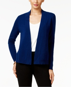 Charter Club - Cashmere Open-Front Cardigan