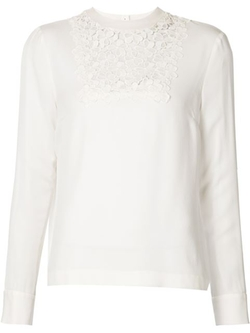 A.L.C. - Lace Panel Blouse