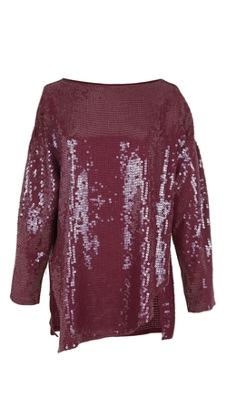 Tibi - All Over Sequins T-Shirt