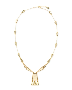 House of Harlow - Trapezio Chandelier Pendant Necklace