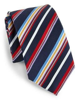 Eton of Sweden  - Multicolored Striped Silk Tie