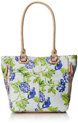 Tignanello  - Bed Of Roses Tote Pebble Printed Bag