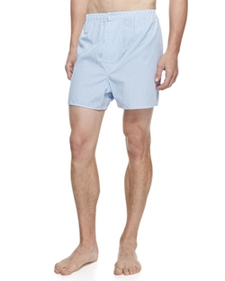Derek Rose  - James Fine-Stripe Boxer Shorts
