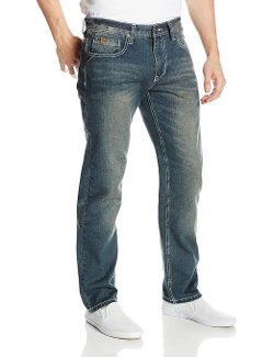 South Pole - Slim Straight Fit Washed Denim Jeans