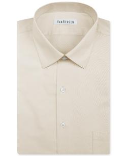 Van Heusen - Herringbone Solid Dress Shirt