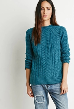 Forever 21 - Contemporary Cable Knit Sweater