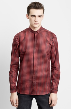 The Kooples - Trim Fit Check Sport Shirt