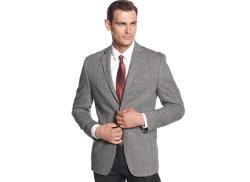 Calvin Klein  - Tweed Slim-Fit Sport Coat