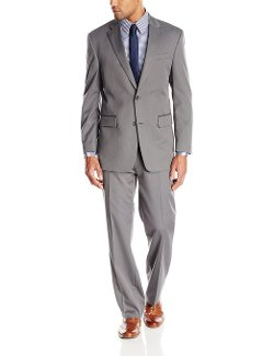 Jones New York  - Side Vent Herringbone Suit