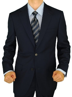 Giorgio Napoli - Presidential Modern Classic Fit Two Button Suit