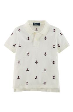 Ralph Lauren  - Anchor Embroidered Polo