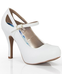Qupid - Mary Jane Platform Pumps