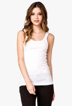 Forever21 - Ribbed Scoop Neck Tank Tops