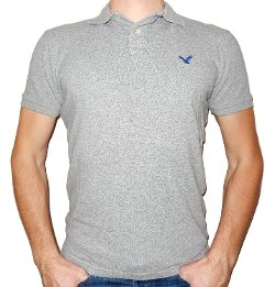 American Eagle Outfitters - Mens Athletic Fit Polo Shirt