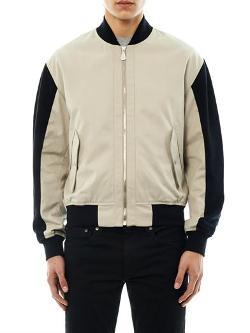 MCQ ALEXANDER MCQUEEN  - Bi-colour bomber jacket