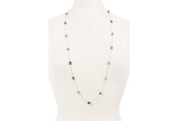 Mapleton Drive - Amethyst Chain Necklace