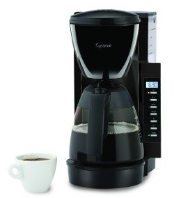 Capresso - 10-Cup Space Saving Coffee Maker