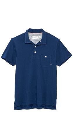Shipley & Halmos - Regent Pocket Polo