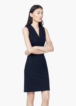 Mango - V Neckline Dress