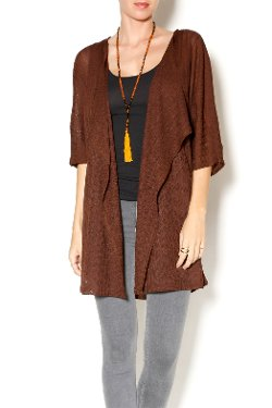 Haus of Vixen - Chocolate Brown Kimono Cardigan