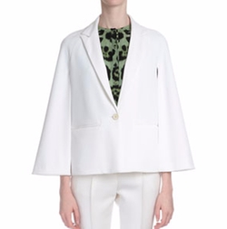Givenchy - Cape-Sleeve One-Button Jacket