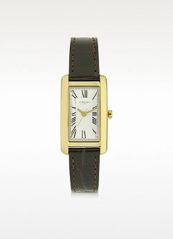 Forzieri - Andromeda Golden Stainless Steel Women