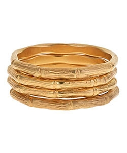 Alvina Abramova - Bones Stacking Rings