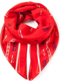 McQ By Alexander McQueen - Printed Scarf
