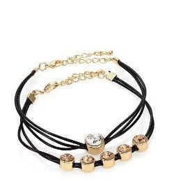 ABS by Allen Schwartz Jewelry  - Jeweled Cord Bracelet Set