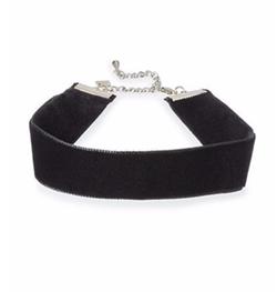 Dannijo - Aria Velvet Choker Necklace