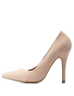 Charlotte Russe - Asymmetrical Pointed Toe Pumps