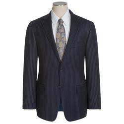Hickey Freeman - Medium Chalk Stripe Suit