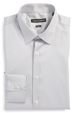 Vince Camuto  - Modern Fit Solid Dress Shirt