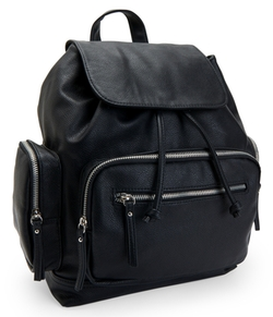 Aéropostale - Faux Leather Backpack