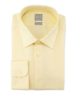 Ike Behar  - Tonal Textured Grid-Check Dress Shirt,