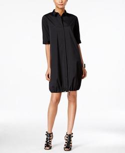 Alfani  - Prima Bungee Hem Shirtdress
