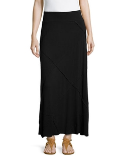 Neiman Marcus - Layered Ruffled Maxi Skirt