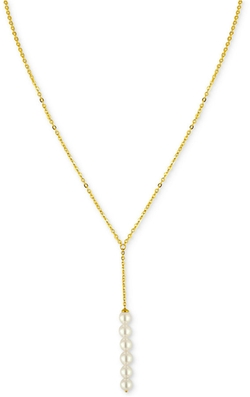 Majorica - Pearl Lariat Necklace