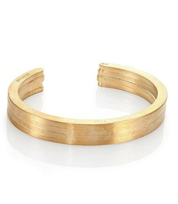 Miansai  - Brass Layered Cuff Bracelet