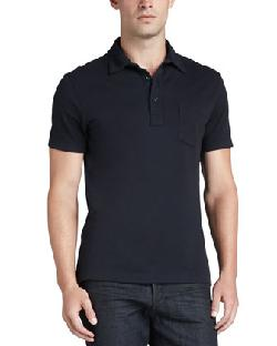 Ralph Lauren  - Black Label Patch-Pocket Polo, Navy