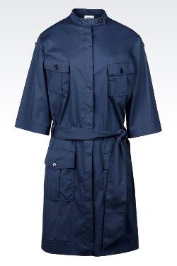 Armani Collezioni - Stretch Twill Shirt Dress