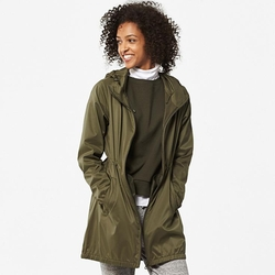 Uniqlo - Pocketable Long Hooded Jacket