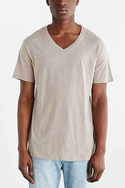 BDG  - Standard-Fit V-Neck Tee
