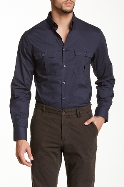 Spurr  - Solid Military Shirt