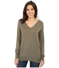 Equipment - Asher V-Neck Sweater