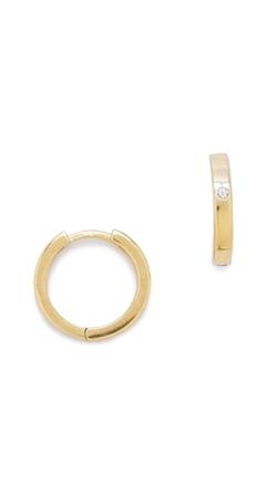 Jennifer Zeuner Jewelry - Tenley Hoop Earrings